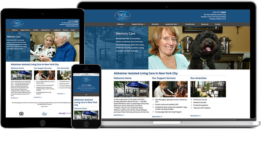 80th Street Residence Website