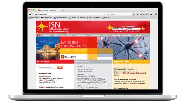 International Society for Neurochemistry (ISN) – Website