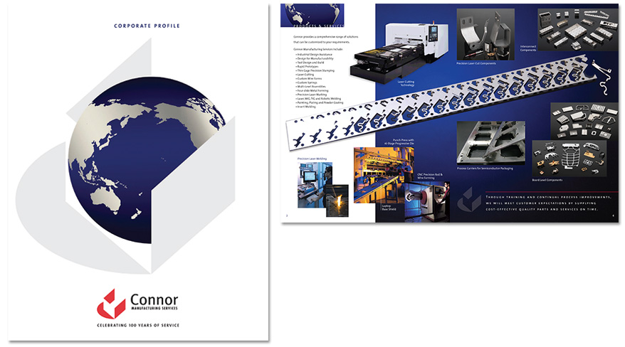 Connor Manufacturing Services Brochure