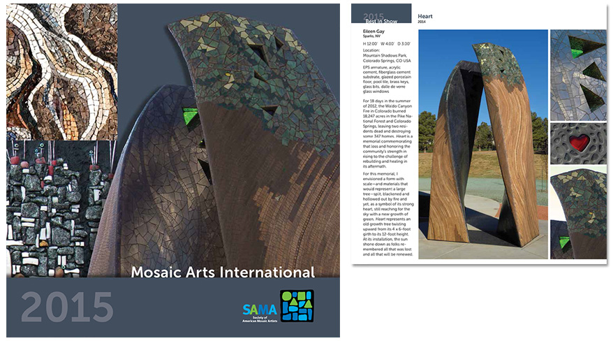 Society of American Mosaic Artists - Event Collateral