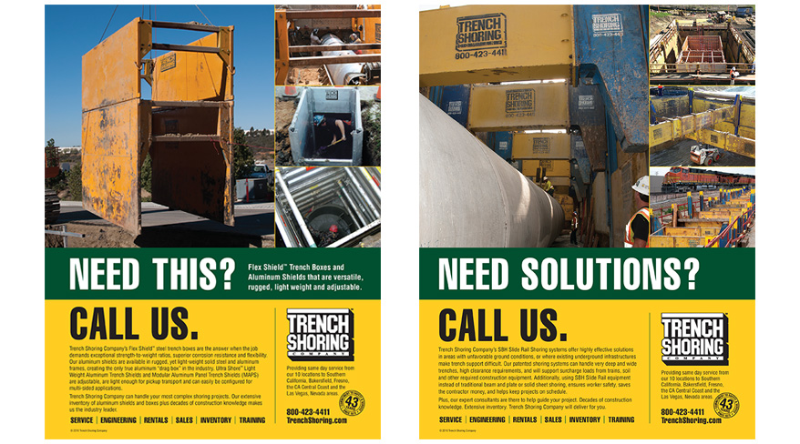 Trench Shoring Company Collateral