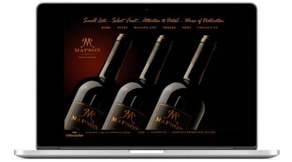 Mapson Cellars – Website