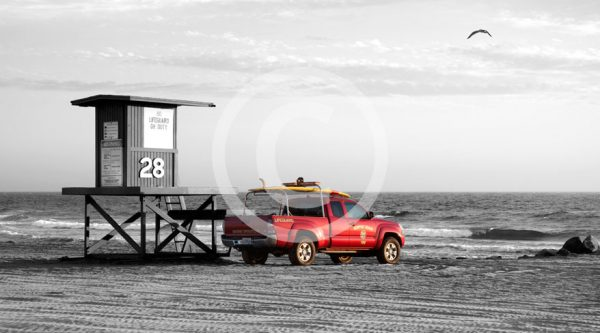 Photography Newport Beach Life Guard Stand 28