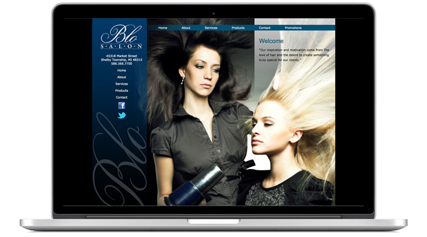 Hairstylist Website Orange County CA