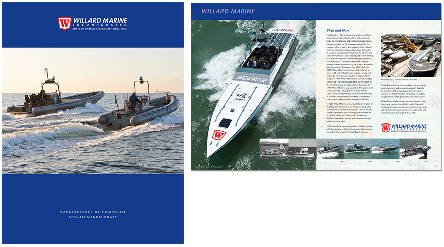 Willard Marine Brochure